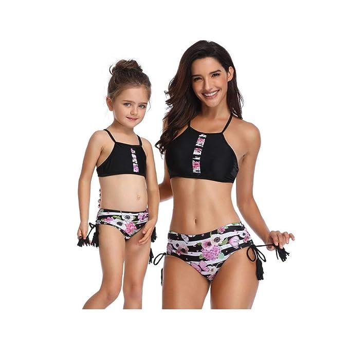 f41af03f37a3 Bikinis Traje de baño Dos Piezas Madre e Hija Ropa Padre Hijo POLP ...