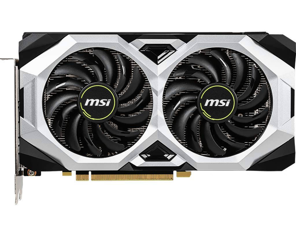 MSI GAMING GeForce RTX 2060 6GB GDRR6 192-bit HDMI/DP Ray Tracing Turing Architecture VR Ready Graphics Card (RTX 2060 VENTUS 6G OC) by MSI (Image #2)