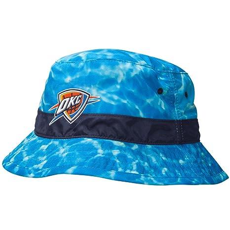 Mens Summer Mitchell Ness Oklahoma City Thunder NBA Team Surf Camo Bucket  Hat 939be009c337