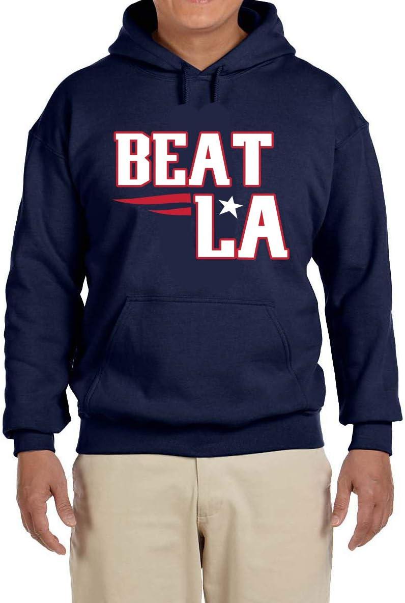 Tobin Clothing Navy New England Beat LA Hooded Sweatshirt