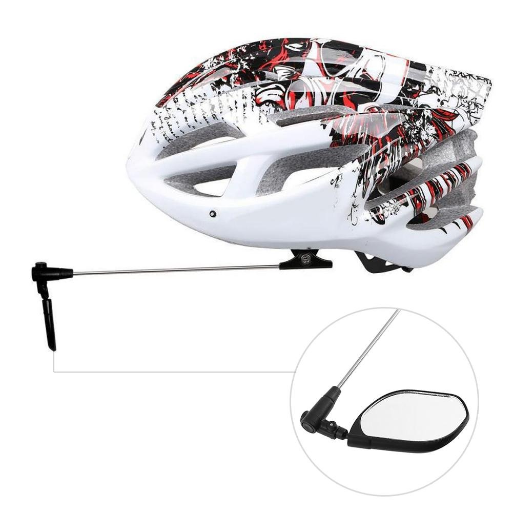 Ciclismo Espejo retrovisor para Bicicleta Giratorio 360/° Espejo retrovisor para Bicicleta xintiandi/® 90 /° Plegable
