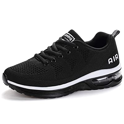 RUMPRA Women Sneakers Lightweight Air Cushion Gym Fashion Shoes Breathable Walking Running Athletic Sport | Walking
