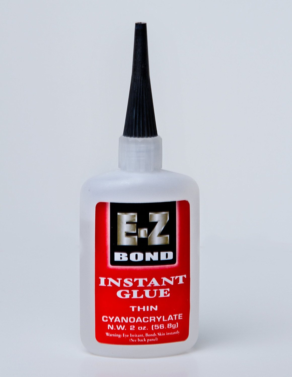 Premium Super Glue - Best Cyanoacrylate Adhesive - Strongest Bond on the Market - Doesn't Clog - Lifetime Guarantee - Perfect Wood and Shoe Glue - Less than a Minute Cure Time - Works Excellent with Metal, Plastic, Ceramics & More. 2 oz, 50 CPS.