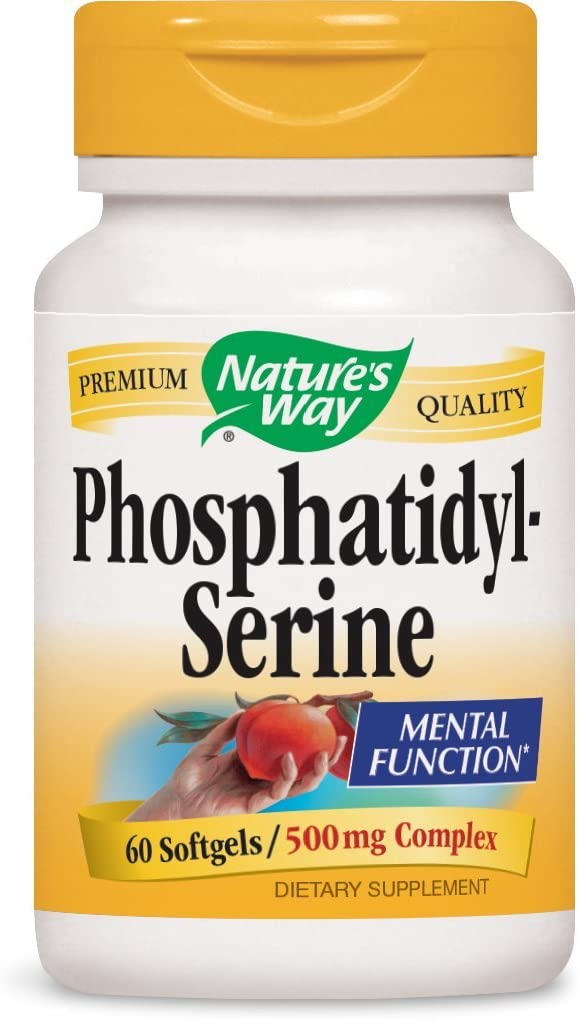 Nature s Way Phosphatidylserine, 100 mg per serving, 60 Softgels