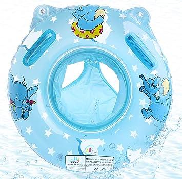 O-Kinee Anillo de Natación Bebe, Lindo Patrón Natación Inflable Flotador de Piscina Juguetes de Desarrollo de Natación en Agua para Bebé 6-36 Meses, ...