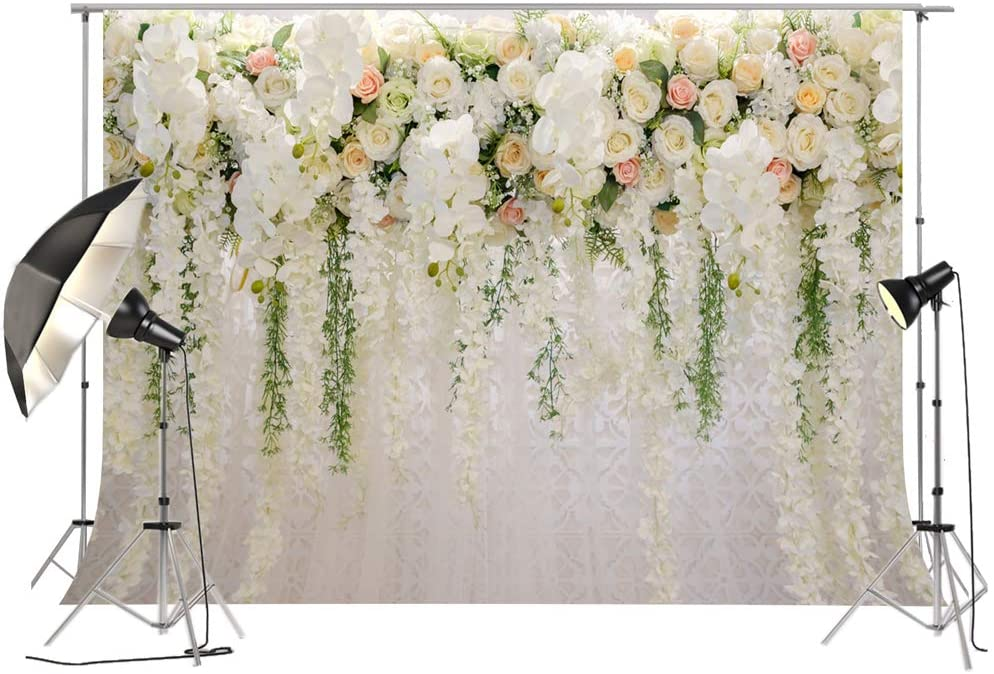 Fivan Floral Wall Effect Backdrop 250x185cm White Wisteria Flower Decoration Bridal Shower Wedding Background For Photography Xt 6749 Ca Amazon Ca Camera Photo