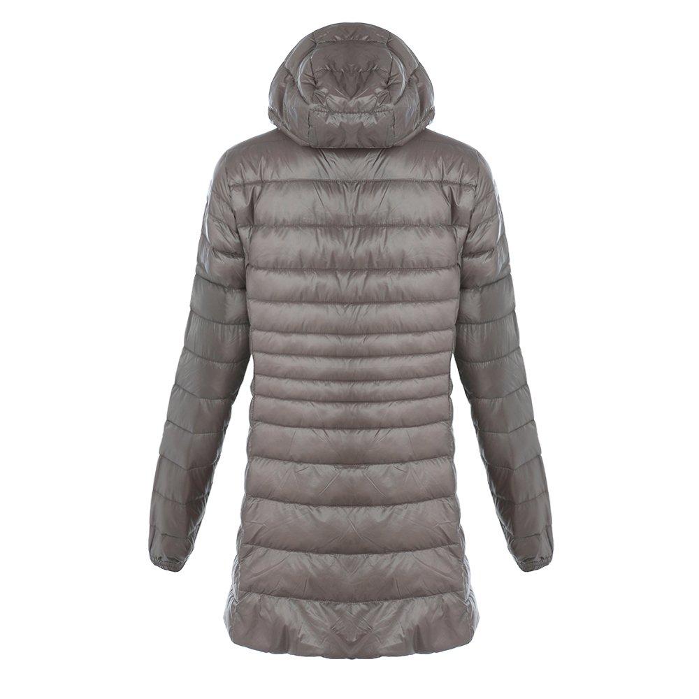 Wenyujh Damen Daunenjacke Winterjacke Parka Kapuzenjacke Steppjacke Winter Warm Übergangsjacke Slim Fit Outwear Große Größen