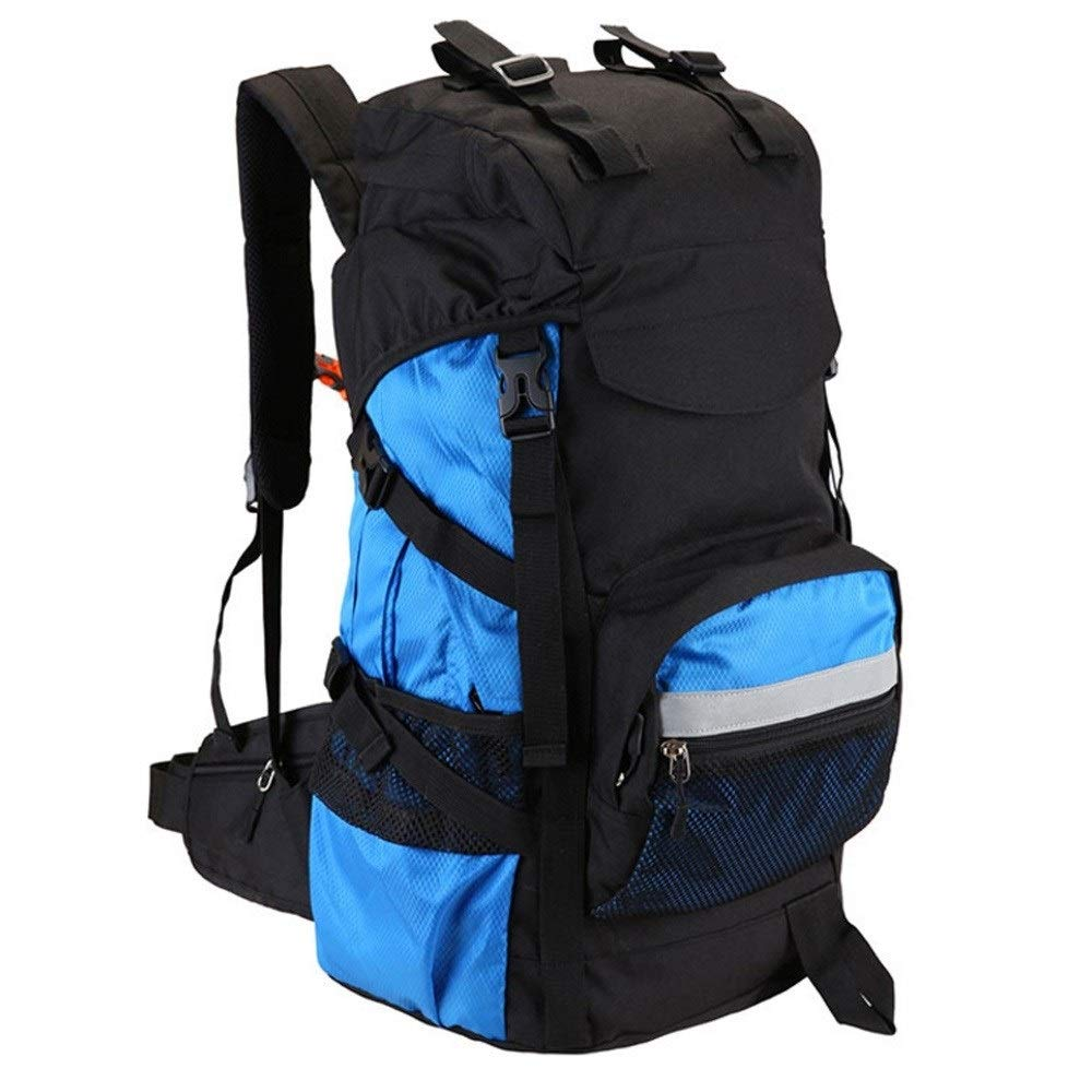 MYXMY Backpack Male Travel Backpack Large Capacity Outdoor Mountaineering Bag Female Student Computer Bag Luggage Travel 45L (Size : 45L)