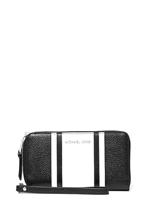 Michael Kors - Cartera de Piel para Smartphone (18 x 10 x 3 ...