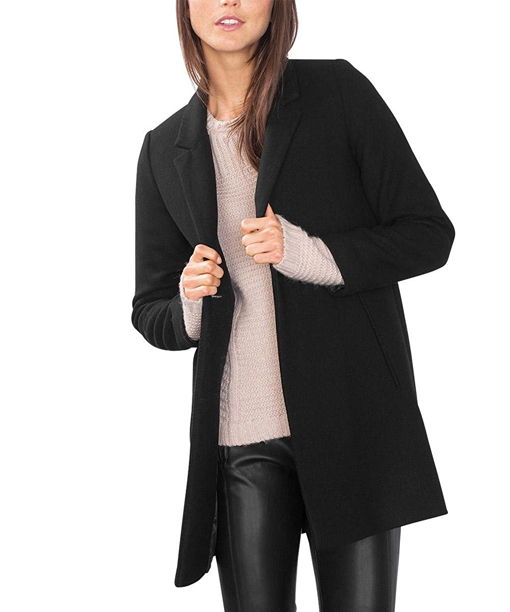 ZYFPGS Herbstwinter Männer Woolen Langen Mantel Slim Fit Woll Jacke Solide Warm Woolen Herren Peacoat Business Casual Kleidung 925 ali 36152098