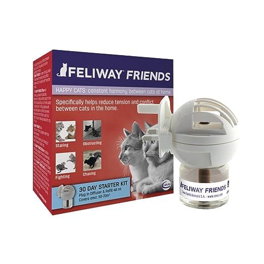 4 opinioni per Feliway Friends Diff. + Ric. Ml 48