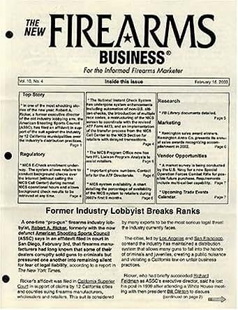 New Firearms Business