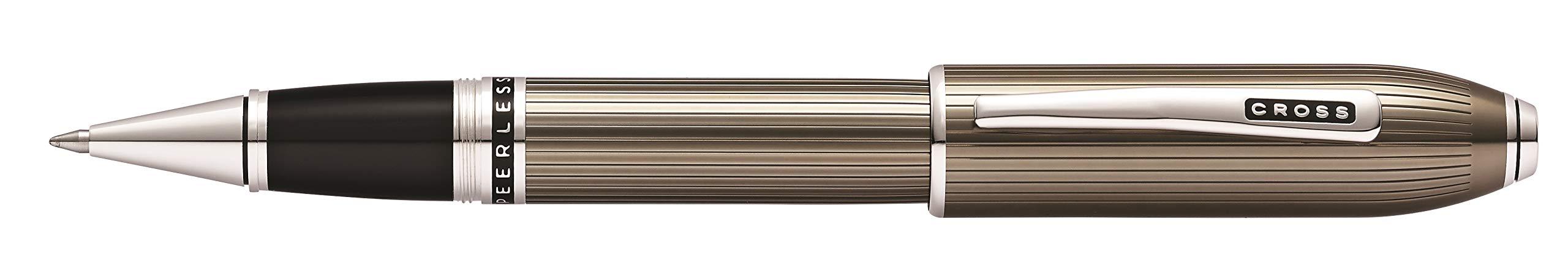 Cross Peerless Translucent Titanium Gray Selectip Rollerball Pen by Cross (Image #1)