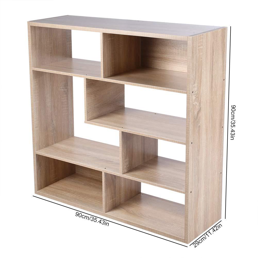 30 EBTOOLS Mobile Guardaroba,Cubi Aperti e Ripiani,Scaffale per Casa e Ufficio,libreria di casa con 7 cubo,per Stanza dei Bambini Ufficio,90 90cm