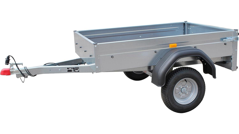 STEMA PKW-Anhänger AN 550 Silber: Amazon.de: Auto
