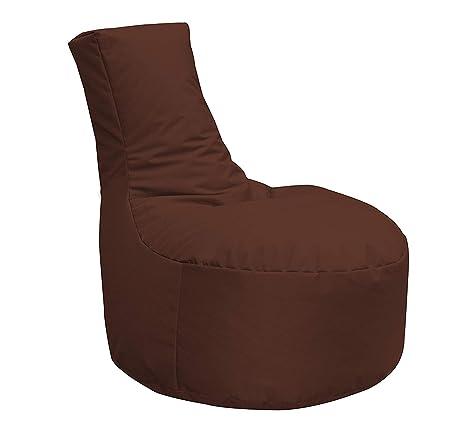 Saco de Asiento XXXL relaxat ionbag Gaming Chair Loung Muebles Cojín Silla, marrón, XXXL