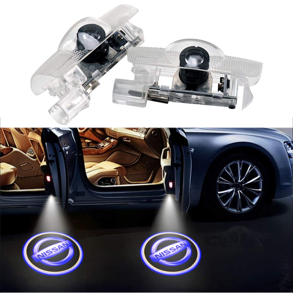 Car Door LED Logo Projector Light,Homose Ghost Shadow Welcome Lights Symbol Emblem Courtesy Step Lights Ground Lamp Kit For BMW 2 Pack