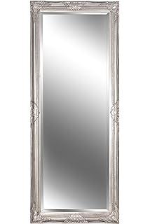 B U S Wohnstyle Spiegel Wandspiegel Louisa Barock Antik Silber 150