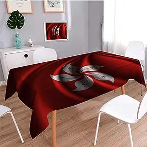 SCOCICI1588 Mantel Resistente al Agua Bandera de Honduras (6) Ideal para Mesa de Buffet, Fiestas, Vacaciones, Bodas y Más: Amazon.es: Hogar