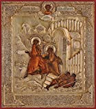 The Angel Delivering St. Peter from Prison Russian Orthodox icon