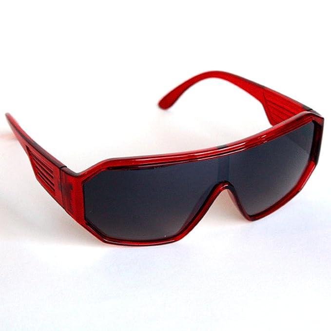 1fb067e7a4 Amazon.com  Macho Wrestler Blank Red Sunglasses  Clothing