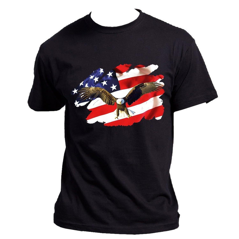 Usa Black Tee Shirt