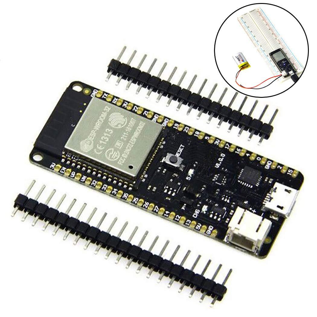 B bangcool WiFi開発ボード D1 ESP32 4MB フラッシュ Rev1 WiFiモジュール Arduinoボード B07L2ZYZGD