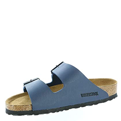 95285fb95824f ... Birkenstock Unisex Arizona Navy Sandals - 6-6.5 2A(N) US Women ...