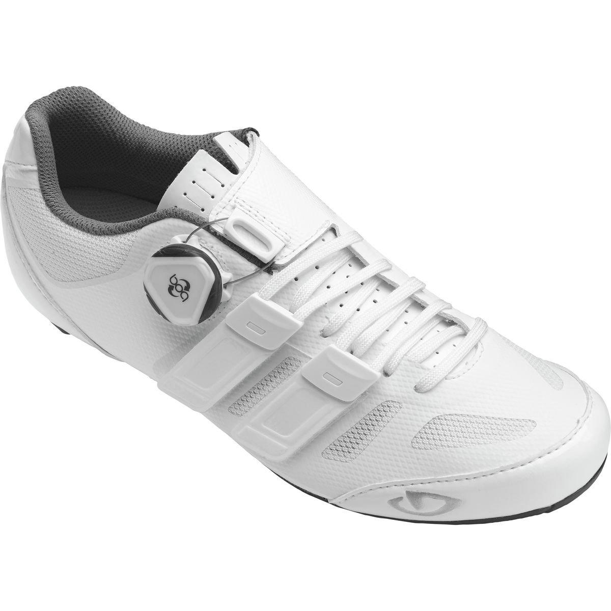 Giro 2017 Womens Rae'S Techlace Road Cycling Shoes (White - 39.5)