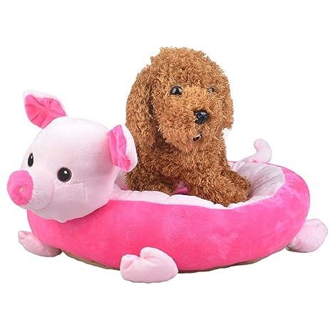yistu mascota cálida cama plegable, colorido peluche acogedor nido Mat Pad para perro cachorro Cat