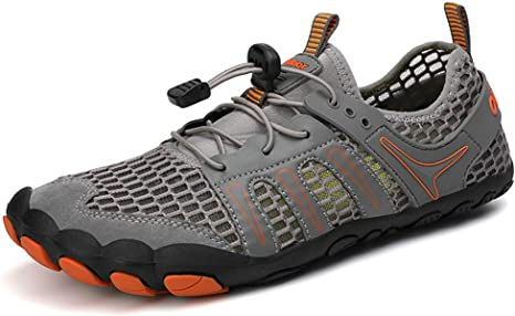 ZODOF zapatillas deportivas hombre Zapatos de agua Deportes Secado rápido Buceo Nadar Navegar Aqua Walking Surf Yoga Al aire libre running shoes(45 EU,gris): Amazon.es: Bricolaje y herramientas