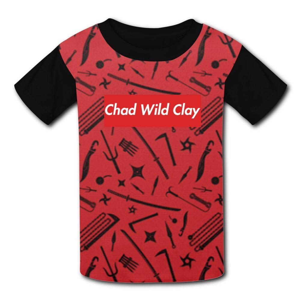 PIERRE VIRGILE Chad Wild Clay Fashionable Kids Boys and Girls T-Shirts