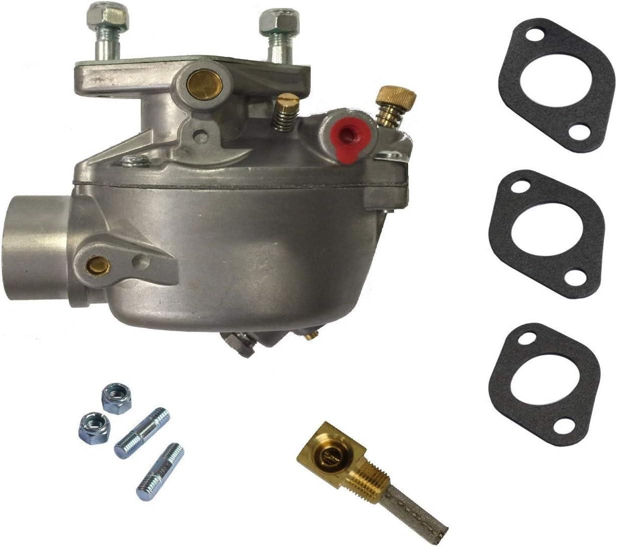 Radracing 8N9510C Carburetor Replacement Compatible Tractor 2N 8N 9N Marvel Schebler Heavy Duty TSX33 TSX241A TSX241B TSX241C 13876 0-13876 B3NN9510A 9N9510A