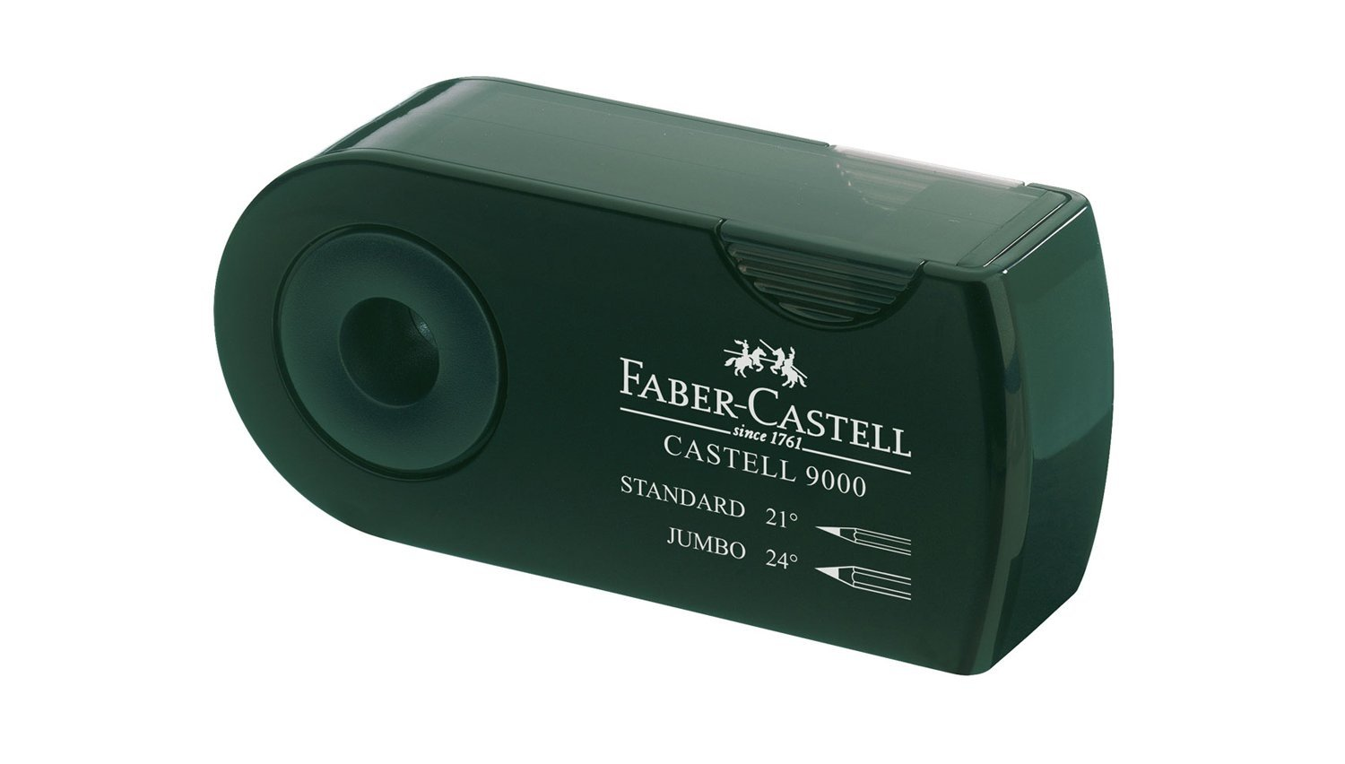 Faber-Castell F582800 DOUBLE HOLE SHARPENER GREEN reikos_0019522742AM_0001373