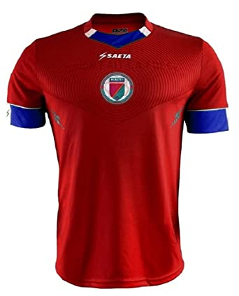 low priced 40526 f5471 Amazon.com: Official Haiti National Football Team Soccer ...