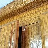 100pcs Adhesive Semicircle Feet Bumper Door Furniture