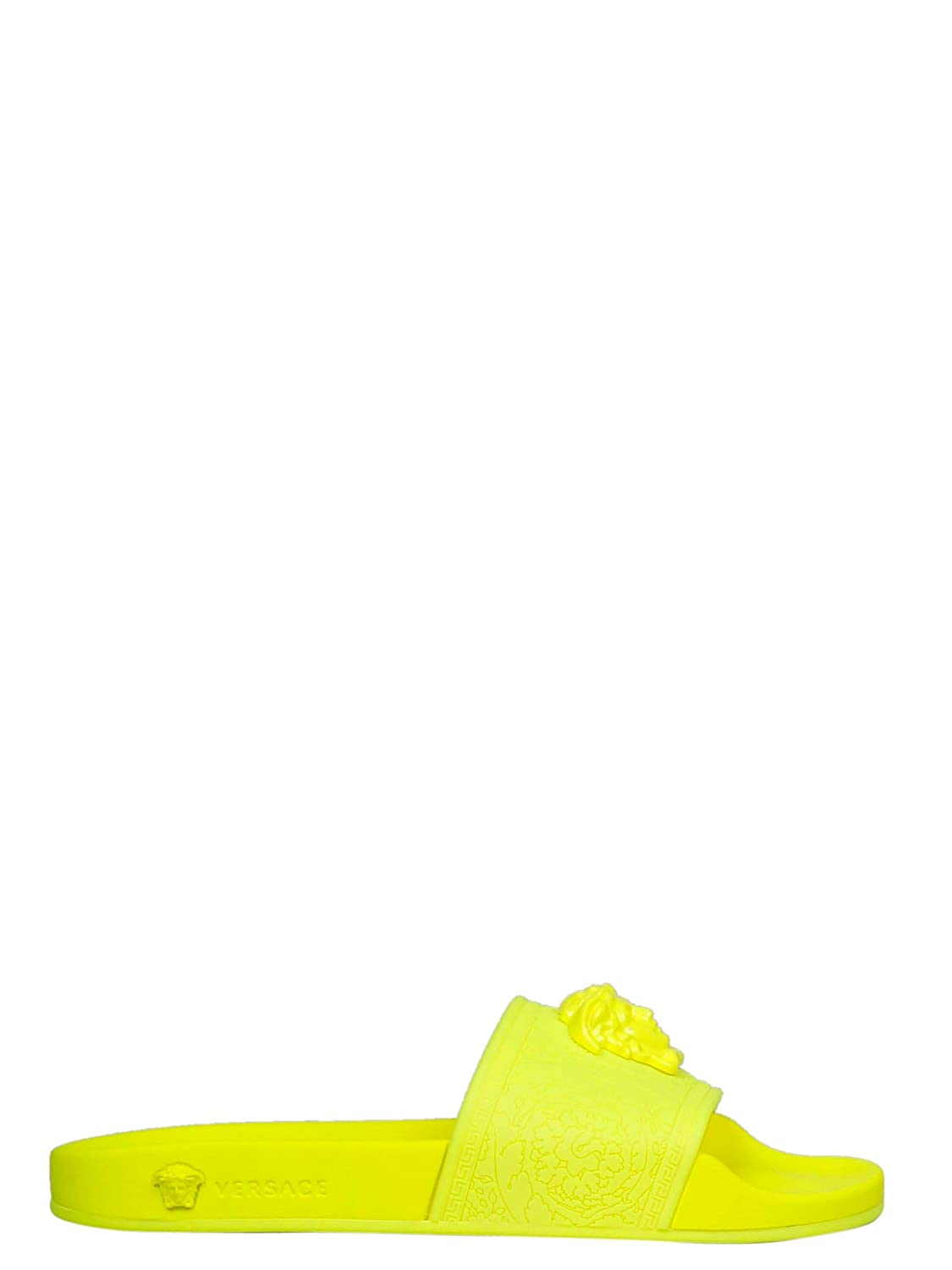 - Versace Collection Women's DSR262CDGOMFDF Yellow Rubber Lace-Up shoes