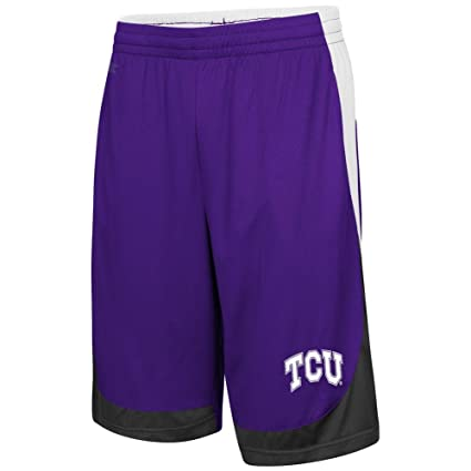 Amazon.com   TCU Texas Christian Shorts Youth Basketball Shorts ... 4ffa93f9690c