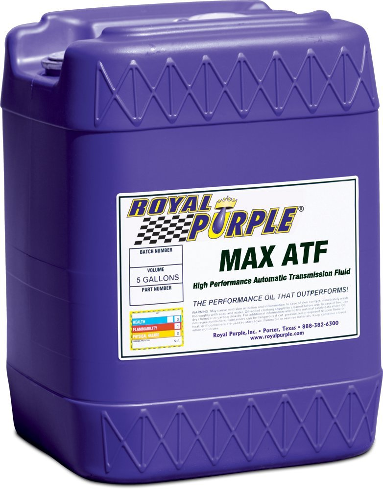 Royal Purple 05320 Max ATF High Performance Multi-Spec Synthetic Automatic Transmission Fluid - 5 gal. by Royal Purple