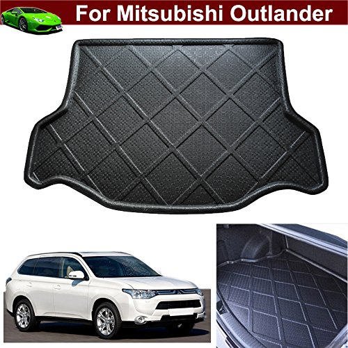 Car Boot Pad Cargo Mat Cargo Liner Cargo Cover Trunk Liner Tray Mat Floor Mat Custom Fit For Mitsubishi Outlander 2013 2014 2015 2016 2017 2018 - Mitsubishi Outlander Custom Mats