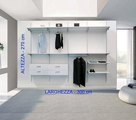 Cabina armario de calidad tipo vestidor,de aluminio ...
