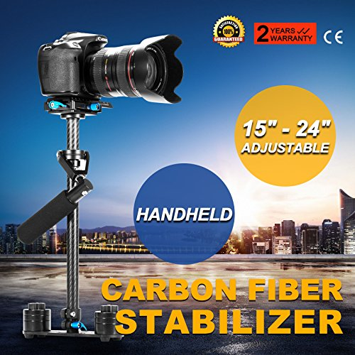 Carbon Fiber Handheld Steady Stabilizer 360° For DSLR Canon Camera YELANGU S60T (Halloween Stores In Nh)