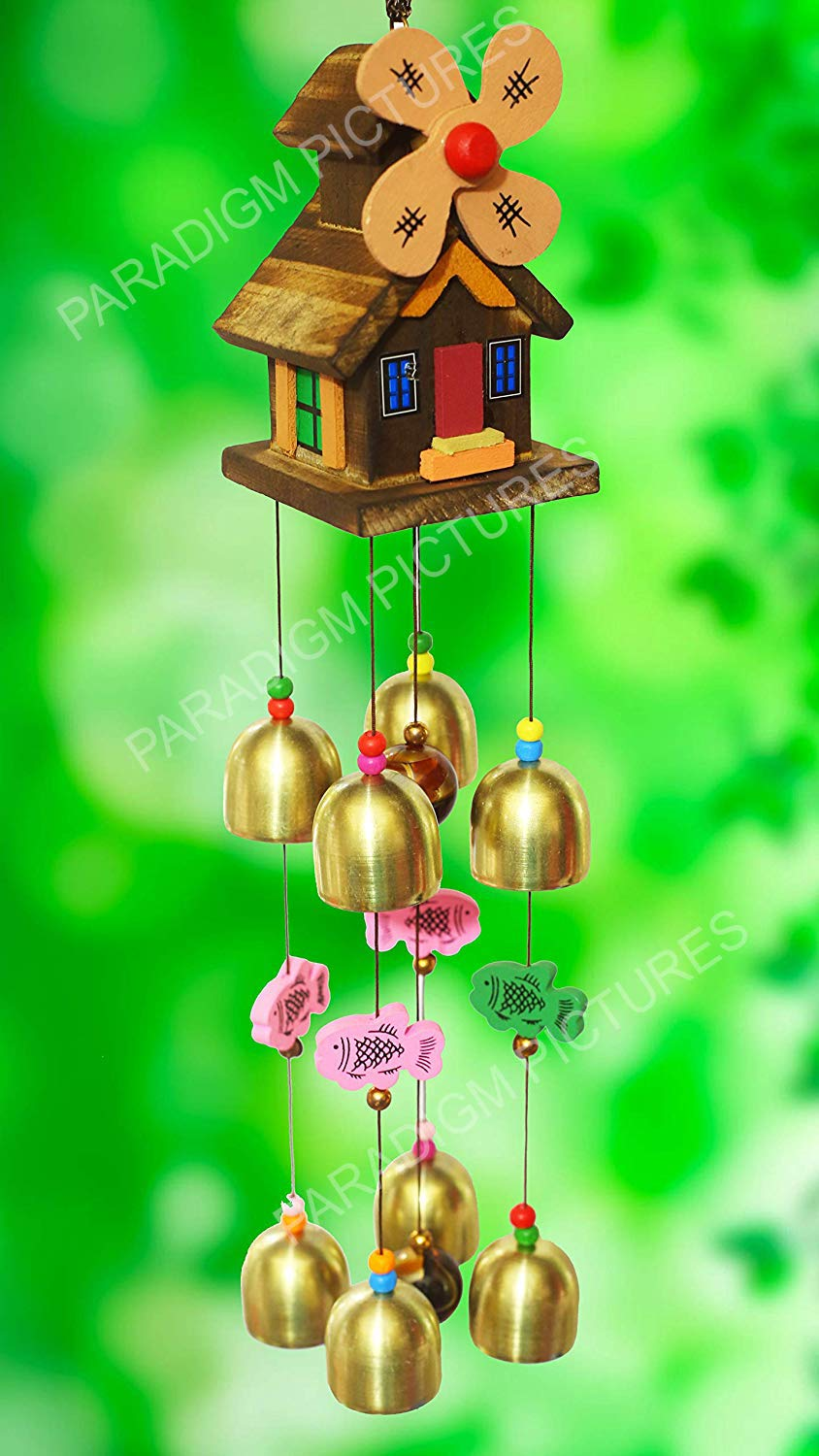 PARADIGM PICTURES Feng Shui Wind Chime for Bedroom || Home Decoration Items  …