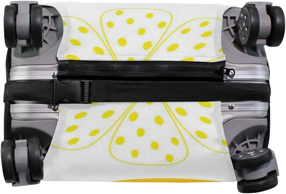 Waves Growing The Lemon Travel Luggage Protector Case Suitcase Protector For Man/&Woman Fits 18-32 Inch Luggage