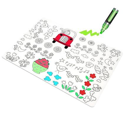 Casa Bonita Bebé Diner Manteles Individuales Para Colorear