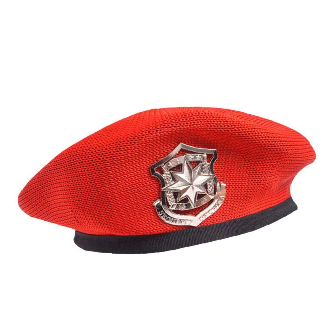 Beauty Hat Army Beret Dance Performance Berets Hats Star Emblem Sailors Hat for Adult Child Caps