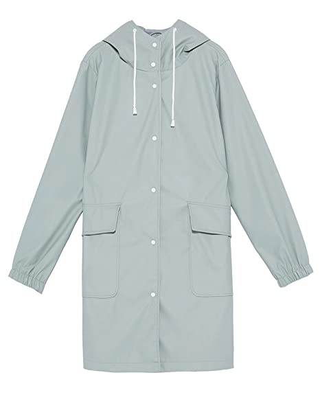 c62c5871 Zara Women's Hooded Raincoat 3046/060: Amazon.co.uk: Clothing