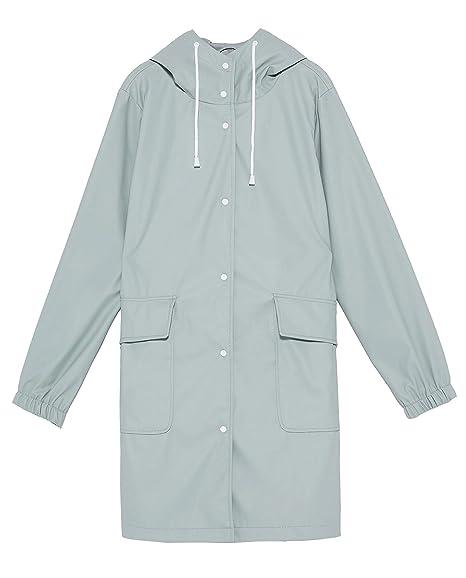 8f9b702f Zara Women's Hooded Raincoat 3046/060: Amazon.co.uk: Clothing