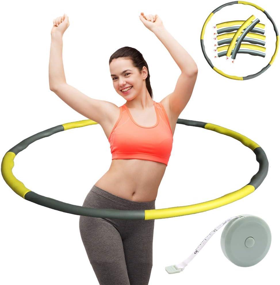 ZOORE Hula Hoop para Perder Peso Ejercicio Aer/óbico Ejercicio de Fitness