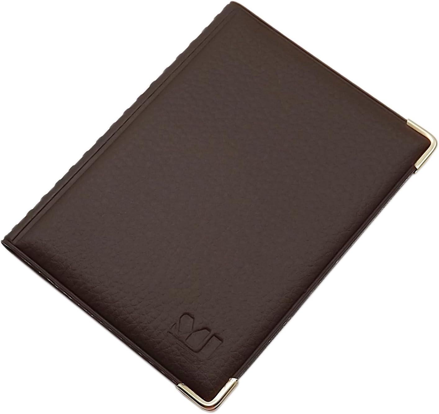 D/ésign 1 // Noir Exclusive Pochette de Carte didentit/é et Porte Carte de cr/édit 12 Compartiments MJ-Design-Germany Made in UE en diverses Couleurs et Designs